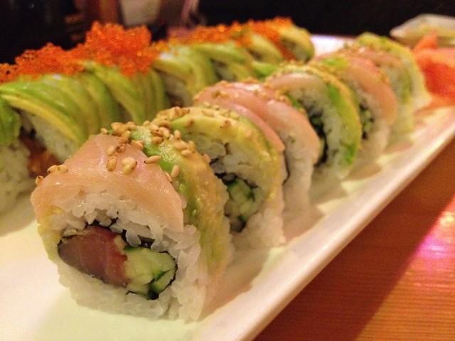 Double hamachi roll - Miyabi Japanese Cuisine