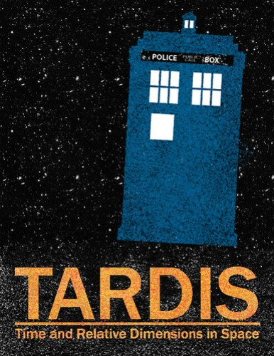 TARDIS Travel Poster