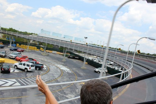 Outdoor track - Test Track at Epcot