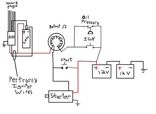 pertronix ignitor ii wiring diagram of split type aircon ignition auto electrical related with