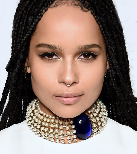 Zoe Kravitz as herself. Credit: nbc.com