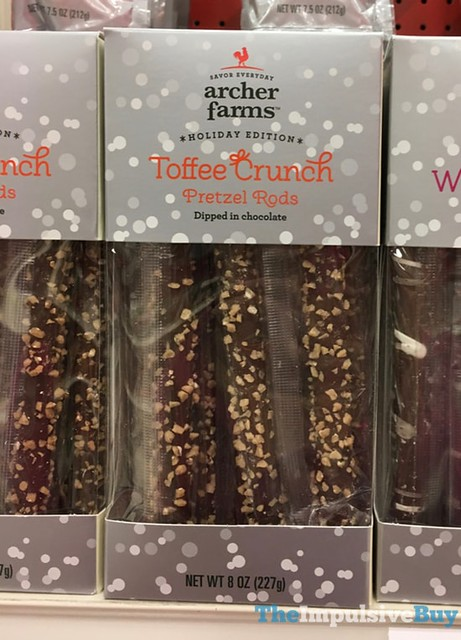 Archer Farm Holiday Edition Toffee Crunch Pretzel Rods