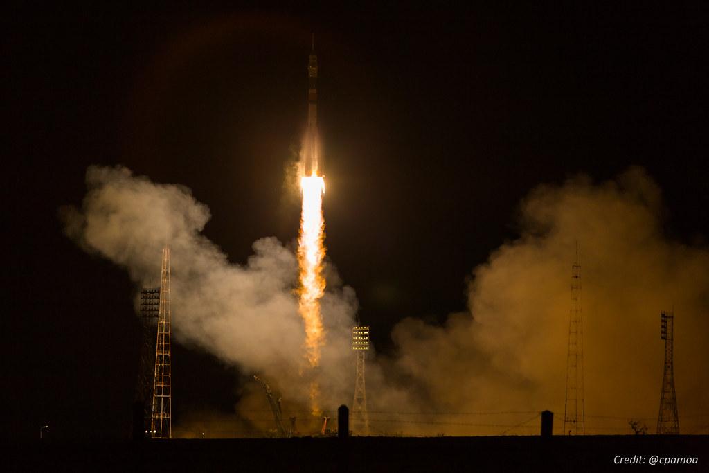 Soyuz MS-03 Launch