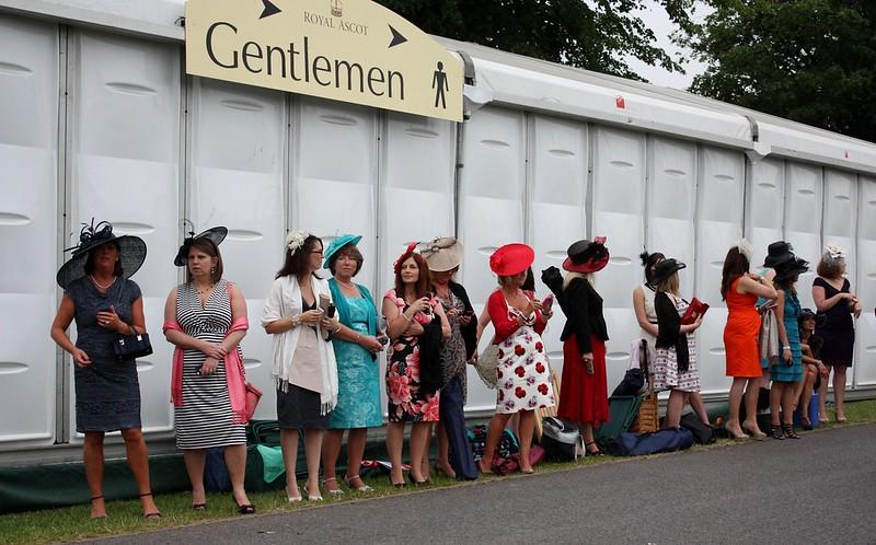 Ascot Waiting for the Gentlemen