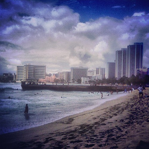Waikiki by @MySoDotCom