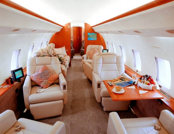 Global Express Interior