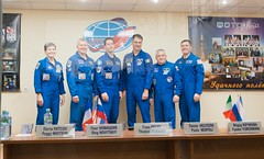 Preflight press conference Expedition 50/51