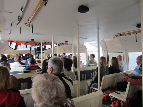 on the tender boat to monte carlo