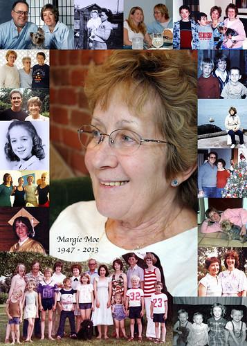 2013 Margie Moe, Memorial Collage