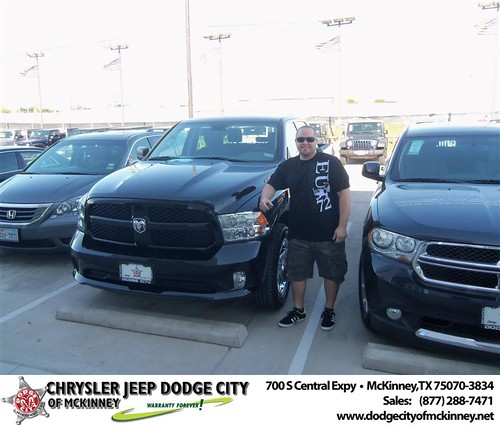 Happy Birthday to Kristofer Sanders  from Rutledge George and everyone at Dodge City of McKinney! by Dodge City McKinney Texas