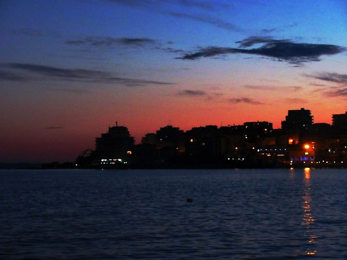 Sarande at Twilight
