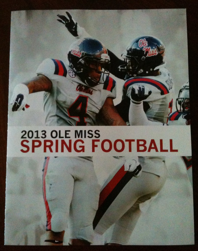 Ole MIss 2013 - Spring Football 1