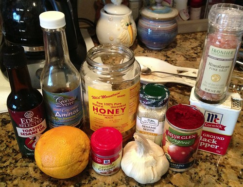 orange chicken ingredients
