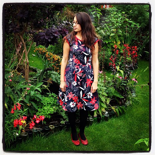 #redoctober Belladone dress
