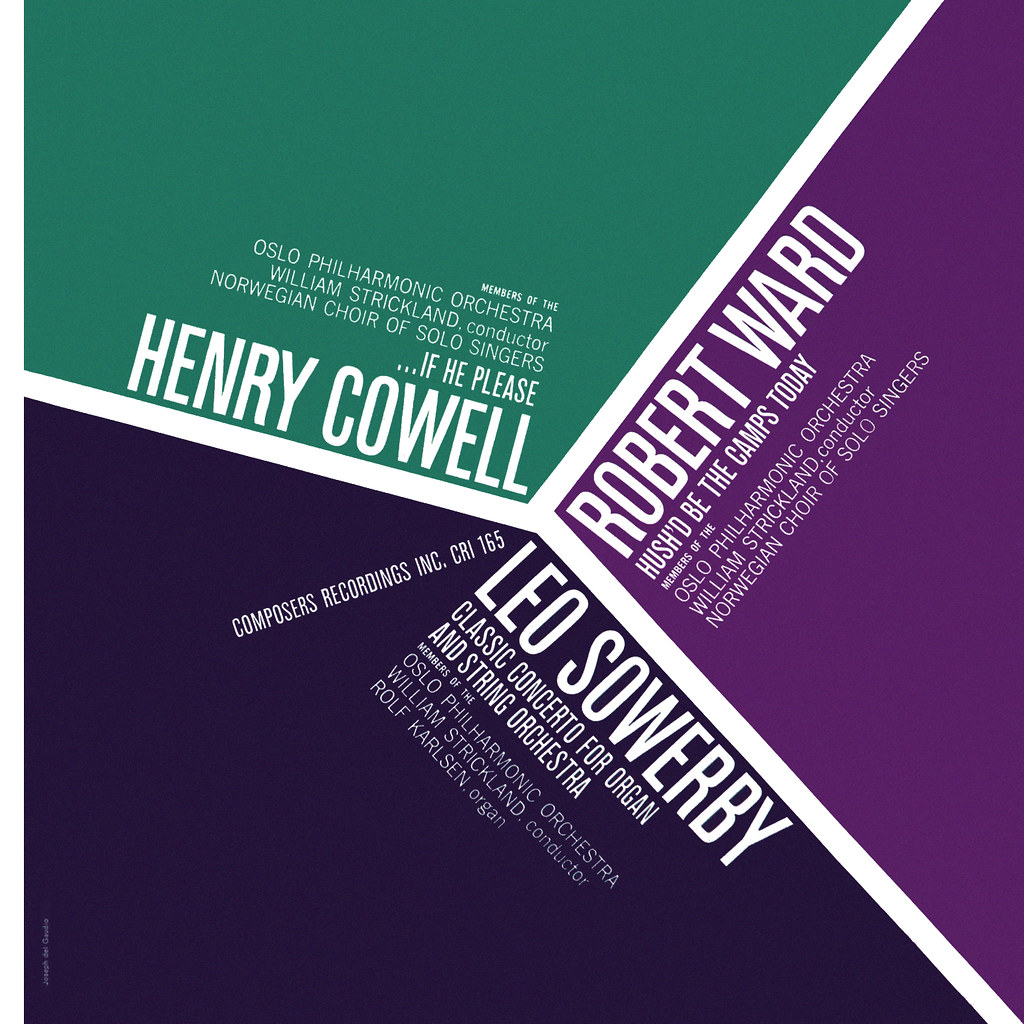 Henry Cowell ... if He please