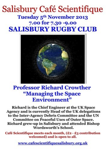 Poster for Prof Richard Crowther