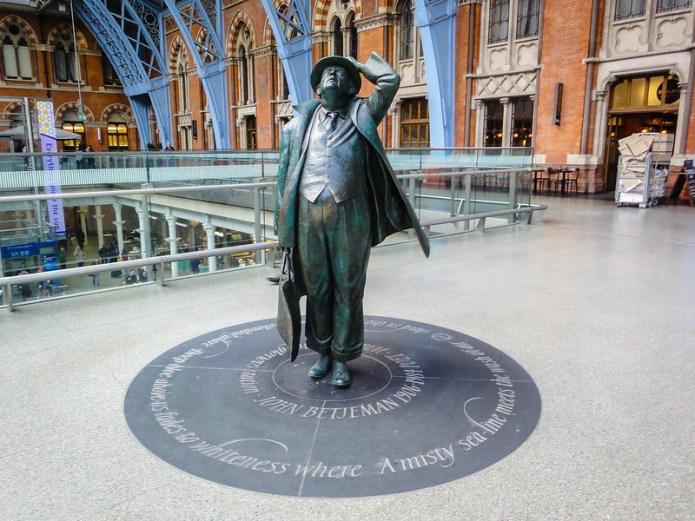 Sir John Betjeman statue