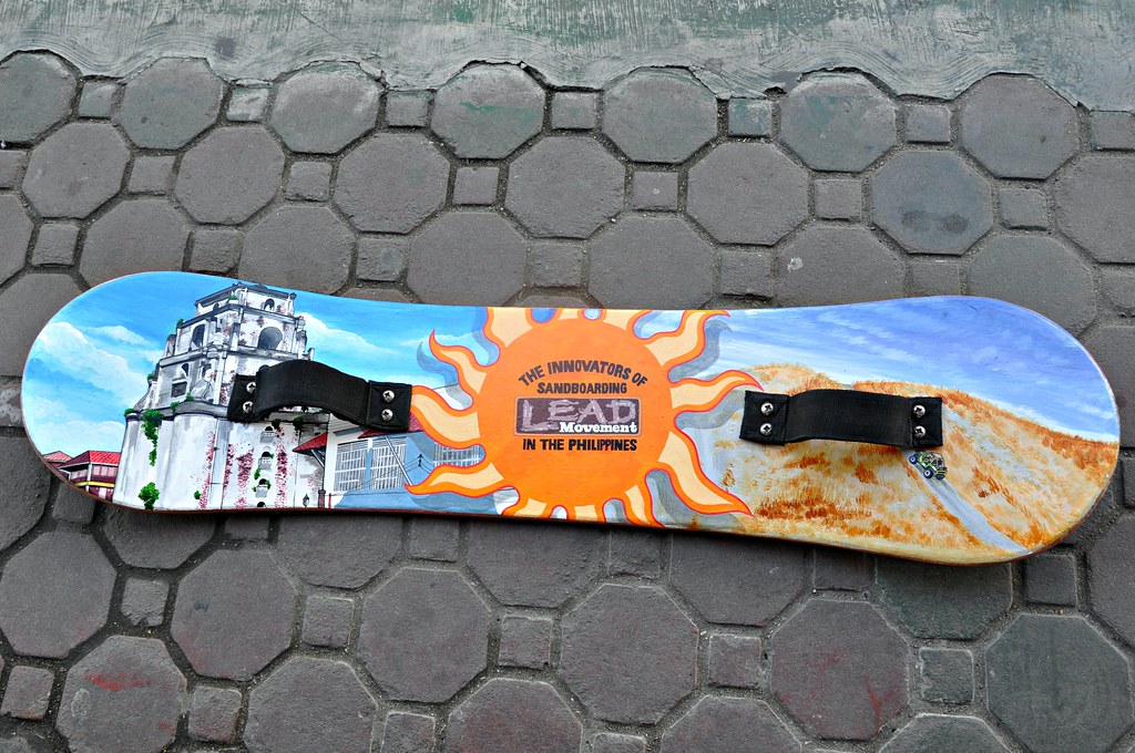 The LEAD Movement sandboard