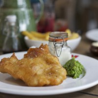 Best Fish and Chips in London? The Perkin Reveller at The Tower of London