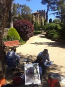David Savellano Watercolor Painting Workshop Spain with www.frenchescapade.com