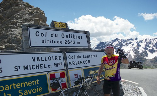 A Beer at Galibier