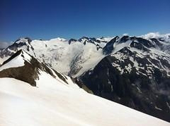 Ausblick unterhalb der Rötspitze
