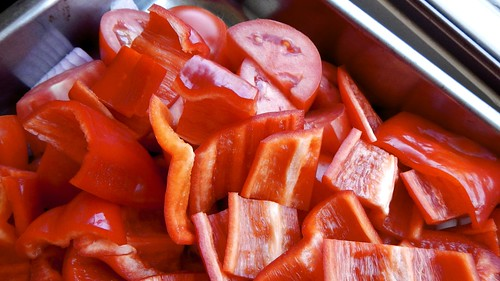 Roasted Tomato and Red Pepper Soup 7