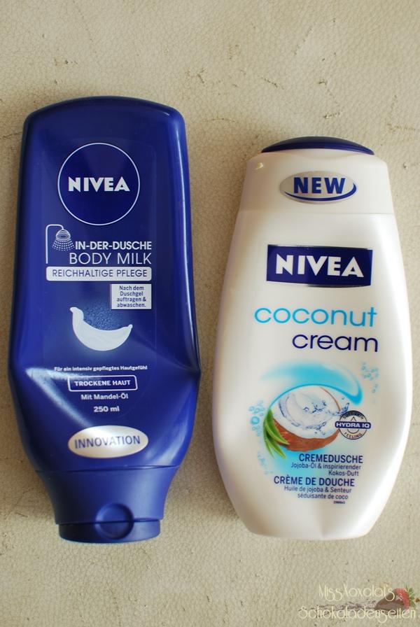 Nivea In der Dusche Bodymilk für trockene Haut | Coconut Cream Cremedusche