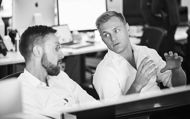Scott Sampson and Glenn Elliott discuss strategy SYD