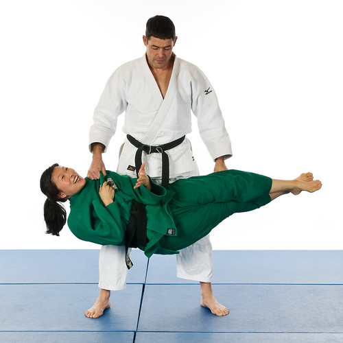 Anatomy of Martial Arts photoshoot outtake