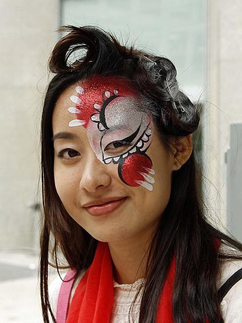 street portrait: face paint
