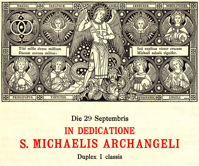 Missale Romanum 1923: Erzengel Michael