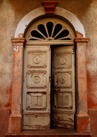 Old Italian Door In Asmara, Eritrea | Flickr - Photo Sharing!