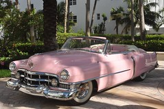 Pink Cadillac, near Ocean drive, South Miami beach