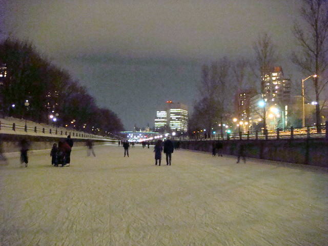Rideau Canal at Night - 1