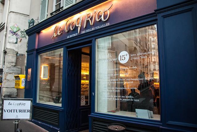 Restaurants in Parijs: heerlijk gevogelte in Bistrot Le Coq Rico,