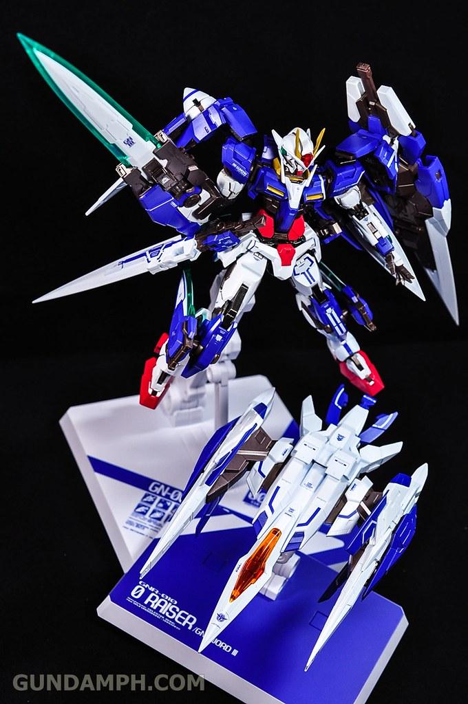 Metal Build 00 Gundam 7 Sword and MB 0 Raiser Review Unboxing (123)