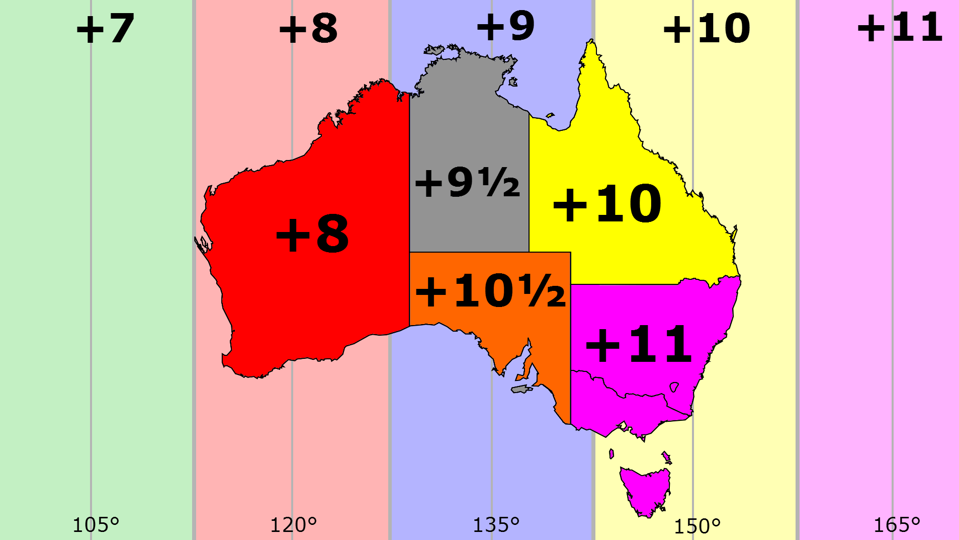 Australia Time Zones Summer Dst Flickr