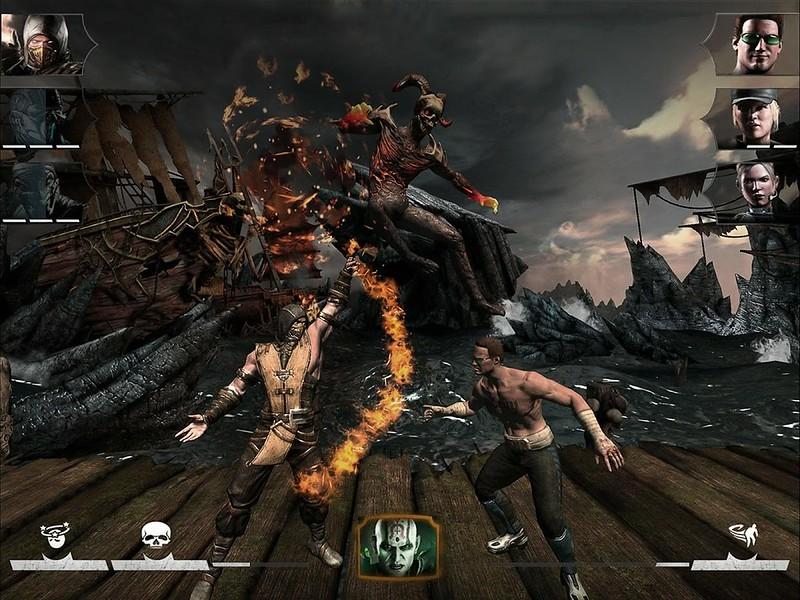 Mortal Kombat X Android juegos lucha