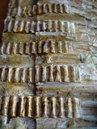Texture city close up