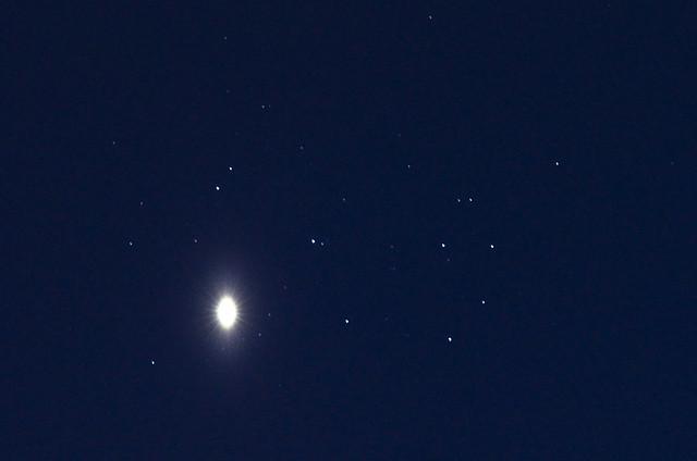Venus Pleiades M45 3 April 2012