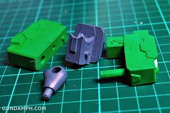 1-100 Kshatriya Neograde Version Colored Cast Resin Kit Straight Build Review (44)