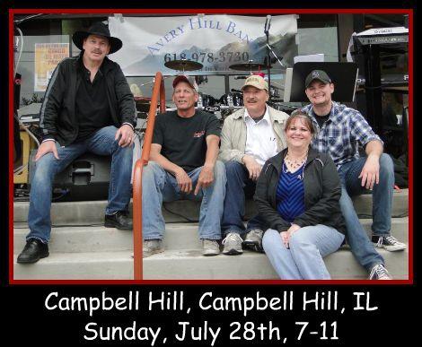 Avery Hill Band 7-28-13
