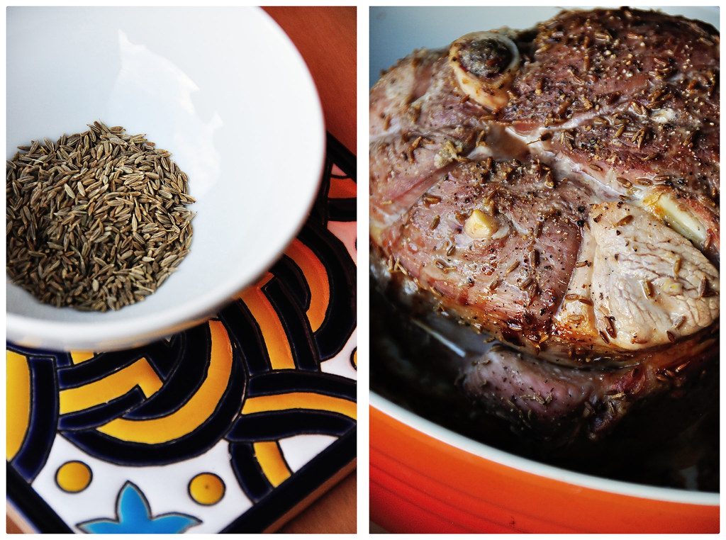 Cumin Roasted Lamb