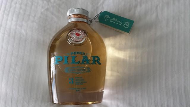 Solid souvenir... Hemingway-tribute rum.