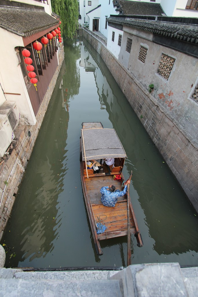 Canals Along Ping Jiang Road In Suzhou