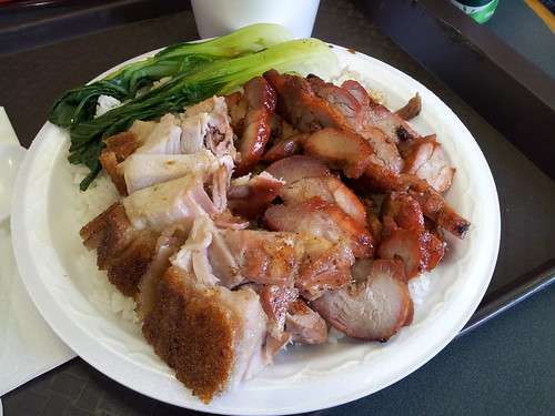 Dynasty B.B.Q. Restaurant - roast pork and BBQ pork