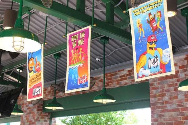 The Simpsons Springfield at Universal Orlando