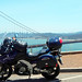 2004 V-Strom 1000 and Golden Gate Bridge