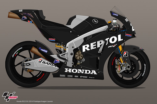Moto GP - Team Repsol Honda - Honda RC213V - Jun 13
